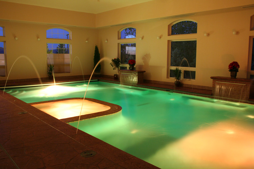 Indoor Lighted Pool