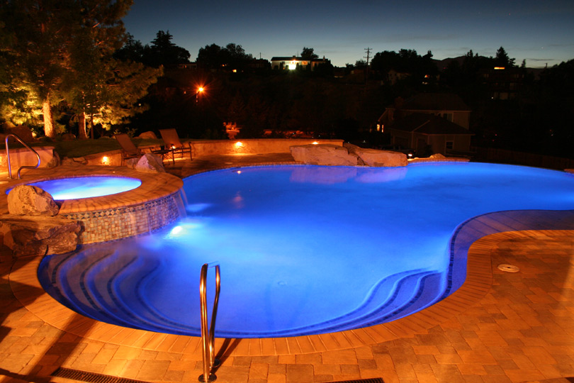 Beautiful Backyard Swimming Pool
